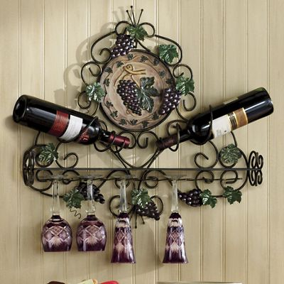Vineyard Wine and Stemware Holder