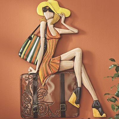 Suitcase Lady