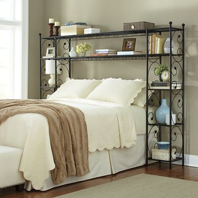 Leaf Scroll Headboard Shelving From Ginny S Ji747596