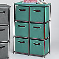 6-Drawer Fabric Storage Drawers
