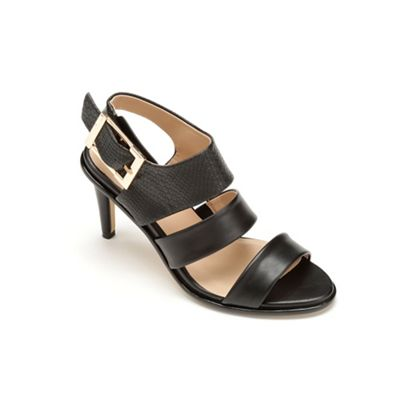 Big Buckle Sandal by Midnight Velvet