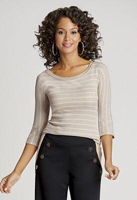 Texture Stripe Top