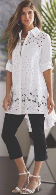Lily Cutwork Shirt