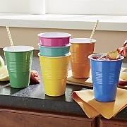 6-Piece Colorful Tumbler Set