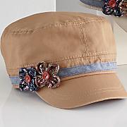 Floral Cadet Hat