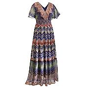 Tiered Woodland Dress