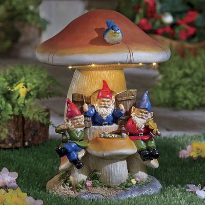Gnome Solar Mushroom