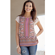 Tamar Printed Top