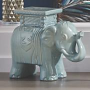 Ceramic Elephant Seat