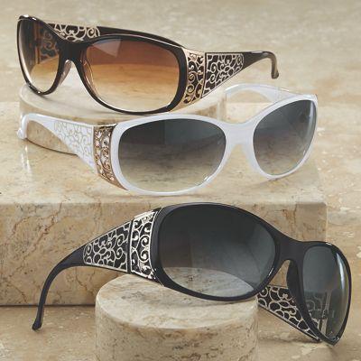 Scroll Side Sunglasses
