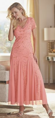Cassi Beaded Gown