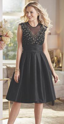 Bea Taffeta Party Dress
