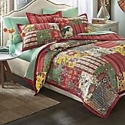 Caprice Patchwork Quilt and Sham