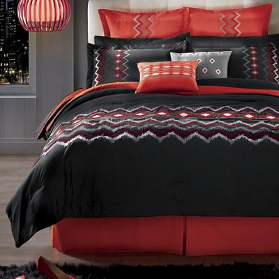8-Piece Tempo Embroidered Bed Set
