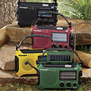 Voyager Solar/Crank Radio