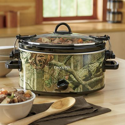 5-Qt. Mossy Oak Cook & Carry by Crock-Pot