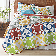 farmhouse patch oversized quilt