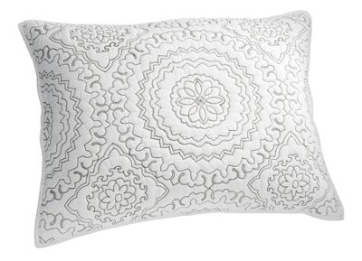 Embroidered Medallion Sham by Jessica Simpson®