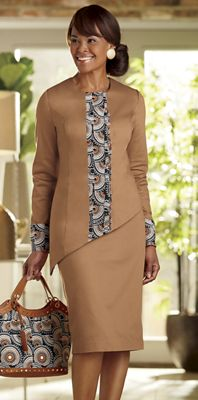 Dresia Skirt Suit