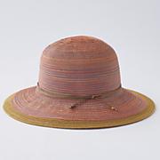 multicolor brimmed hat