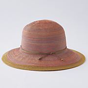 Multicolor Brimmed Hat