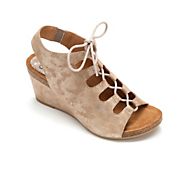 Maize Suede Sandal by Söfft