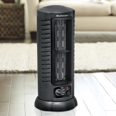 Oscillating Tower Fan and Heater by Comfort Zone