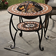 Round Firepit Table
