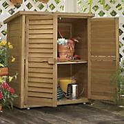 Wooden Garden Cabinet