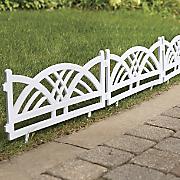Arch Garden Fence