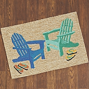 "Adirondack Seaside Mat - 1' 8"" X 2' 6"""