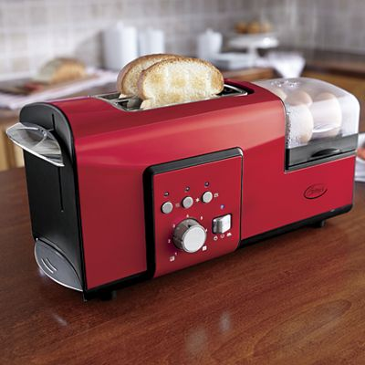 Toaster with Egg Cooker by Ginny's