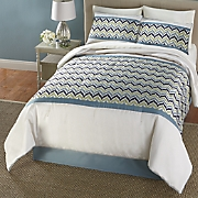 warwick jacquard complete bed set and window treatments