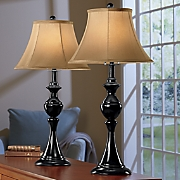 Set of 2 Rotary Switch Lamps