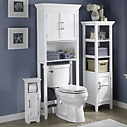 Modern White Bath Furniture