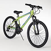 "24"" Gloss Acid Green Mountain Bike by Huffy"