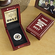 Personalized 2017 Graduation Box with Coin