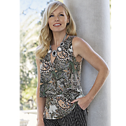 Paisley Party Top