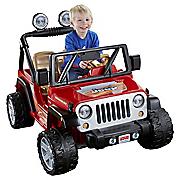 Ride-On Power Wheels Jeep Wrangler by Mattel
