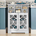 Lattice Six-Cubby Cabinet