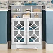 lattice six cubby cabinet