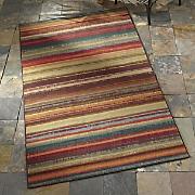 Avenue Stripe Indoor/Outdoor Rug by Mohawk