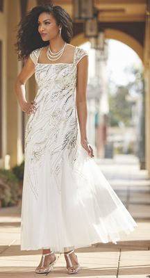 Angelica Beaded Gown