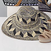 Geometric Floppy Hat