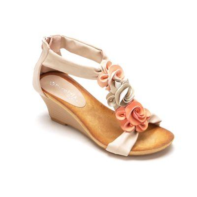 Harlequin Pastel Sandal by Spring Footwear