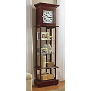Curio Grandfather Clock with Hidden Storage