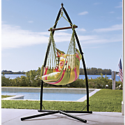 Flower Bird Hammock Chair, Pillow and Base