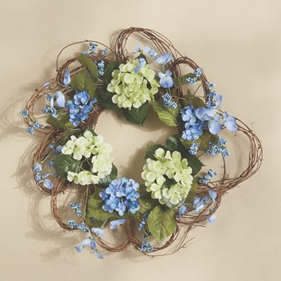 Forget-Me-Not Wreath