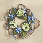 forget me not wreath