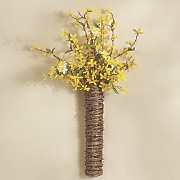 forsythia door basket